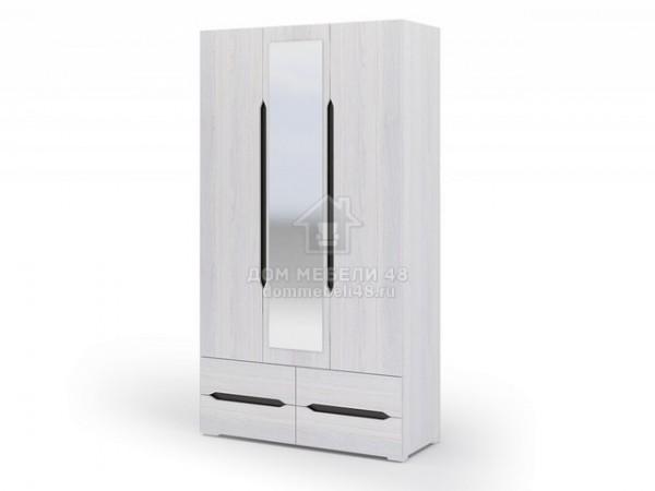 """Шкаф 3-х ств. с ящиками """"Валенсия"""" 1,2м ЛДСП производитель: Стендмебель"""