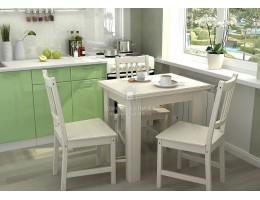 Стол кухонный раскладной 1,2х0,8м ЛДСП производитель: Стендмебель