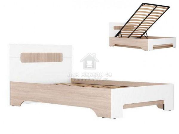 """Кровать """"Палермо-3"""" 1,2м с подъемным мех. Производитель: Стиль"""