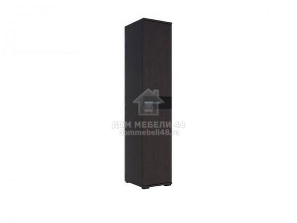 Пенал «Луиза» 450 Венге/Черный глянец Производитель: Стиль