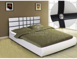 """Кровать """"Классик"""" 1,4м с ортоп.основ. Экокожа производитель: М-стиль"""