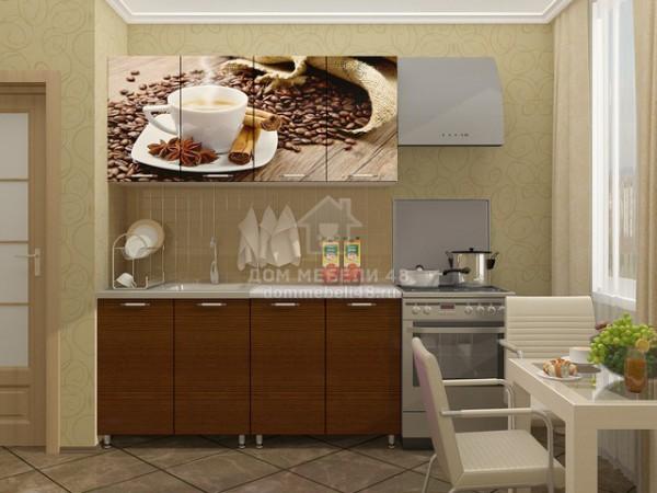 """Кухня """"Кофе"""" 1,6м МДФ"""