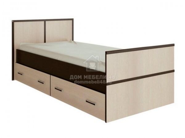 """Кровать """"Сакура"""" 0,9м ЛДСП производитель: Дисави"""