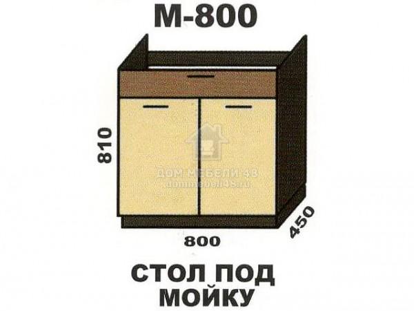 """М800 Стол под мойку """"Шимо"""". Производитель - Эра"""