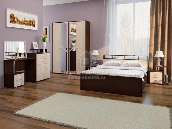 Модульная спальня Саломея 2