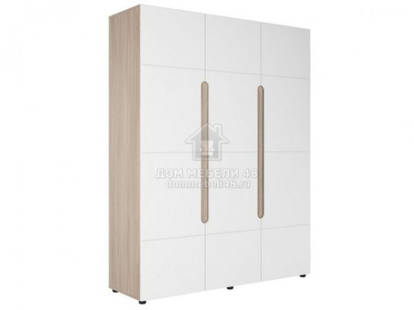 "Шкаф 3-х створчатый ""Палермо-3"" 1,6м МДФ Производитель: Стиль"