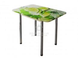 Стол обеденный с принтом (1,0мх0,7м) Рисунок Лайм. Производитель - БТС