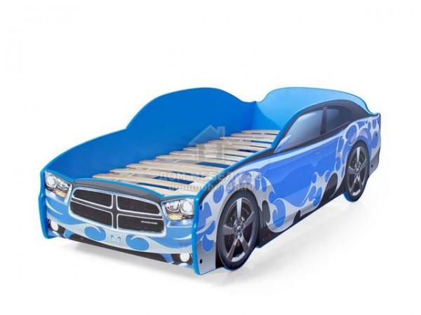 """Кровать-машина """"Додж"""" синий Производитель: Futuka kids"""