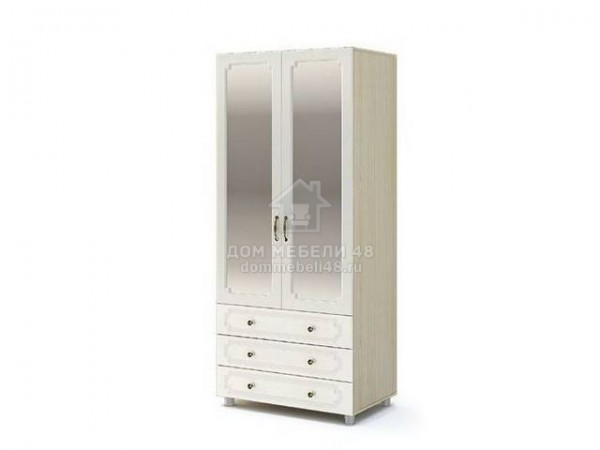 """Шкаф 2-х ств. """"Виктория"""" (ШК-915) 0,9м МДФ производитель: Стендмебель"""
