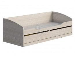 """Кровать """"Мийа-3А"""" КР-002 0,8х2,0м ЛДСП Производитель: Стиль"""