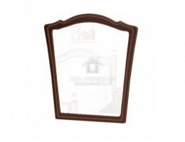"""Зеркало """"Оникс"""" 0,81х0,89м (Орех Тёмный) производитель: Бравомебель"""