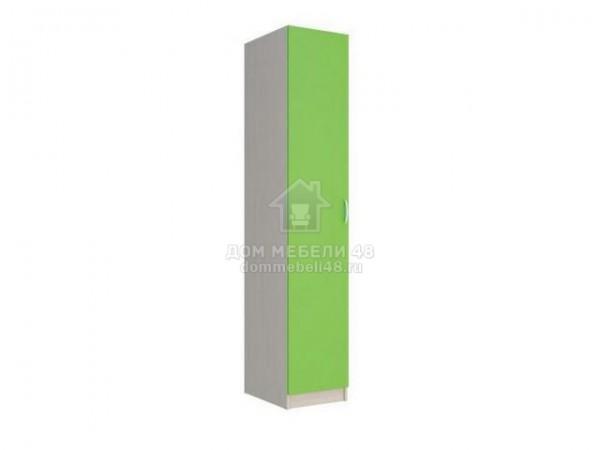 """Пенал для белья """"Мийа-2"""" 0,4м Зеленый ЛДСП Производитель: Стиль"""