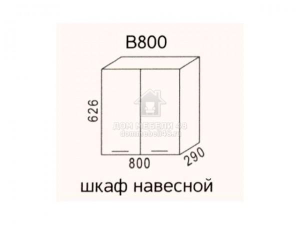 """В800 Шкаф навесной """"Эра"""". Производитель - Эра"""