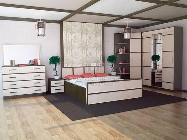 Спальня Сакура БТС (Комплектация №4)