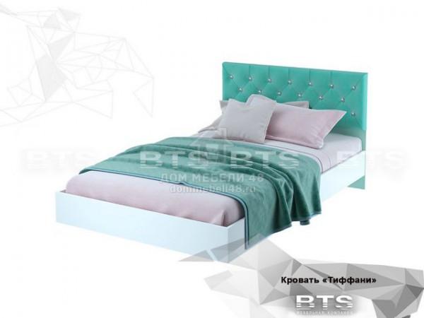 """Кровать """"Тифани"""" (КР-09) 1,2м ЛДСП+Велюр производитель: БТС"""