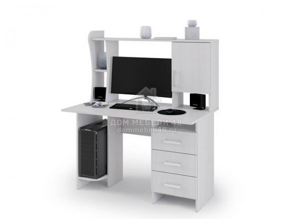 Стол компьютерный №5 1,2м (Анкор) ЛДСП