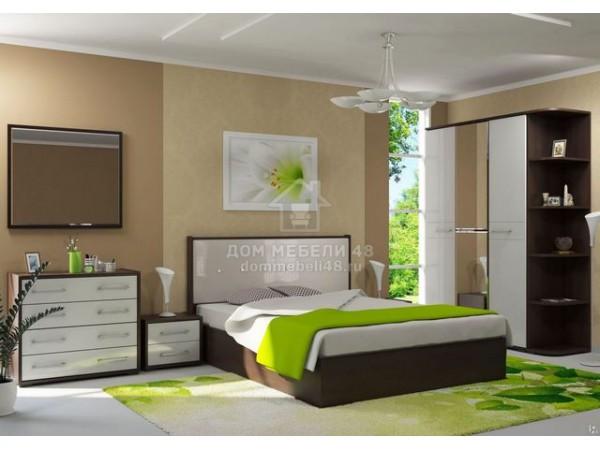 Модульная спальня «Луиза» (Комплект №2) Производитель: Стиль