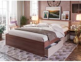 """Кровать """"Гармония"""" 1,6м с ящиками ЛДСП производитель: Комфорт"""