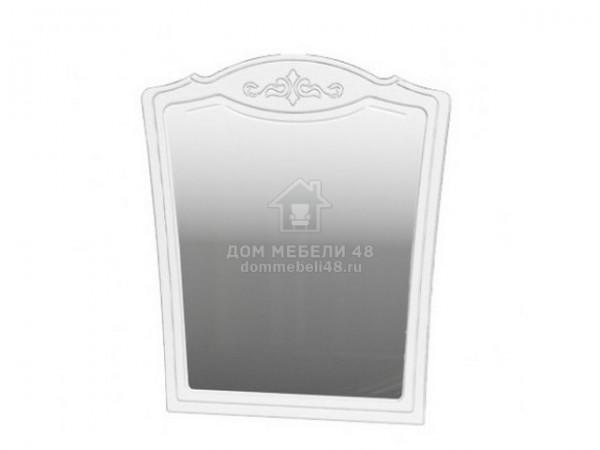 """Зеркало """"Лотос"""" 0,81х0,89м (Белый Глянец) производитель: Бравомебель"""