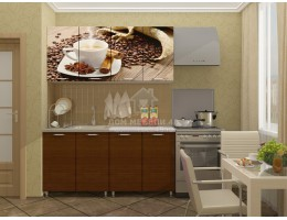 """Кухня """"Кофе"""" 1,6м МДФ производитель: Дисави"""