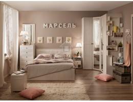 """Спальня """"Марсель"""" ЛДСП (комплектация-1) производитель: Глазовмебель"""