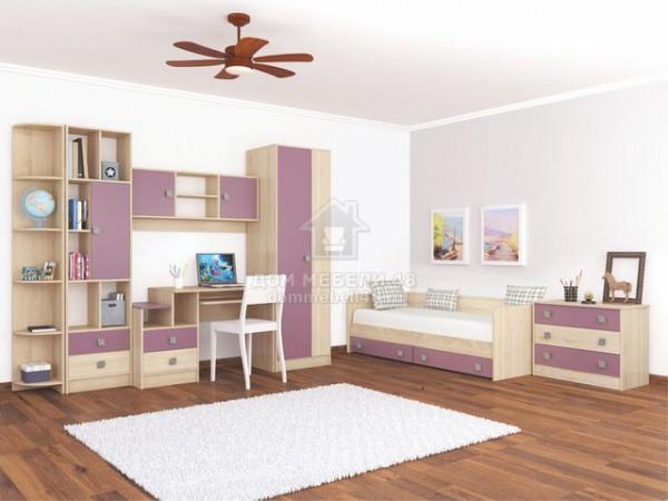"""Модульная детская спальня """"Колибри"""" (Комплект №8) Производитель: ТЭКС"""