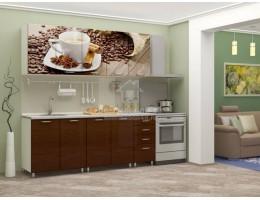"""Кухня """"Кофе"""" 2,0м МДФ производитель: Дисави"""
