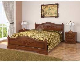 """Кровать """"Карина"""" 1,6м массив производитель: Бравомебель"""