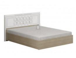 """Кровать """"Амели"""" МДФ щиток 1,6м с ортопед. осн Производитель: Стиль"""