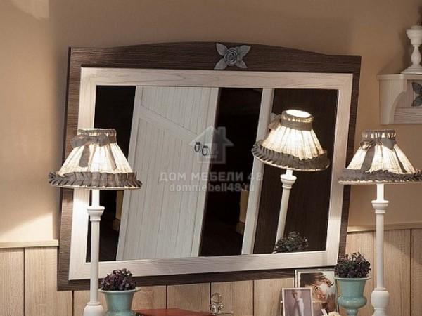 """Зеркало навесное 8 """"Марсель"""" 1,03х0,73м ЛДСП производитель: Глазовмебель"""
