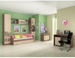 Модульная подростковая спальня Орион (Комплект №1)