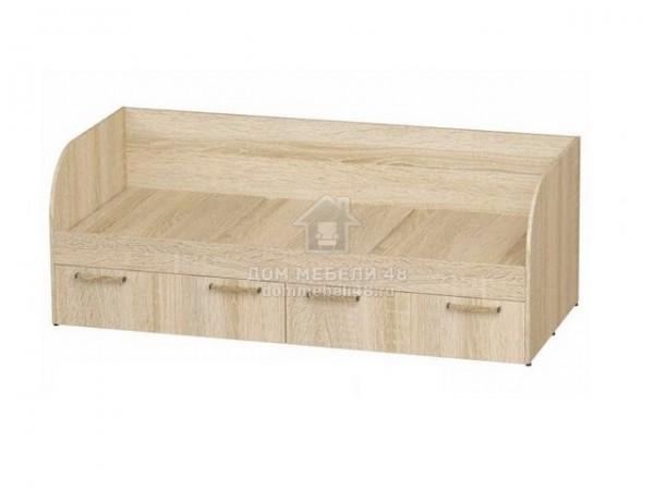 """Кровать с ящиками """"Сенди"""" 0,8х1,86м ЛДСП производитель: БТС"""