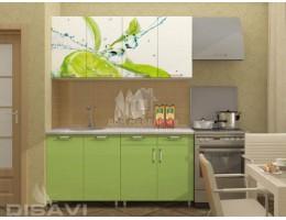 "Кухня ""Лайм"" 1,6м (2-ящика) МДФ производитель: Дисави"