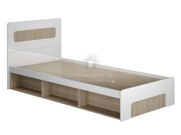"""Кровать """"Палермо-3"""" с подъем.мех. (КР-001) 0,9м МДФ"""