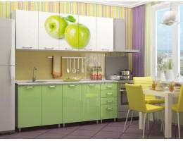 """Кухня """"Яблоко"""" 1,8м МДФ производитель: Дисави"""