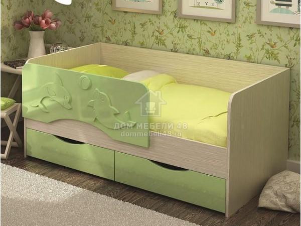 """Кровать """"Алиса"""" 1,4м МДФ производитель: Стендмебель (КР811)"""