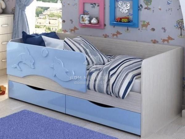 """Кровать """"Алиса"""" 1,6м МДФ производитель: Стендмебель (КР812)"""