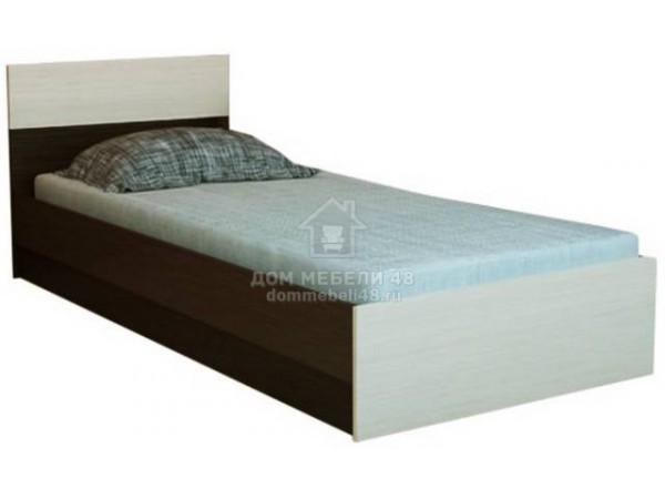 """Кровать """"Юнона"""" 0,8м Горизонт"""