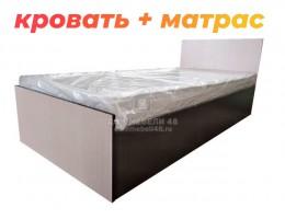 """Кровать """"Стандарт-1"""" 0,9м ЛДСП + Матрас по АКЦИИ"""