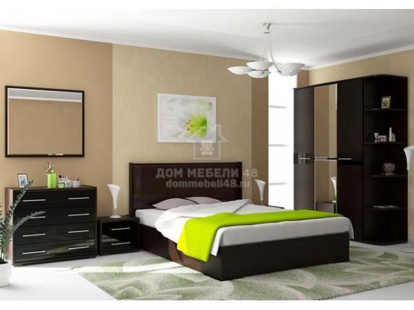Модульная спальня «Луиза» (Комплект №3) Производитель: Стиль