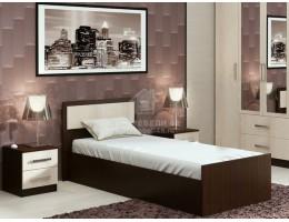 """Кровать """"Фиеста"""" 0,9х2,0м ЛДСП производитель: Дисави"""