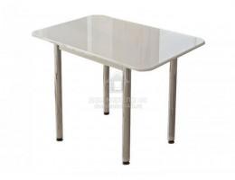 Стол обеденный 1,0х0,7м Белый Глянец. Производитель - БТС