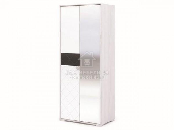 "Шкаф 2-х створчатый ""Сальма"" (ШК 022) 0,84м МДФ"