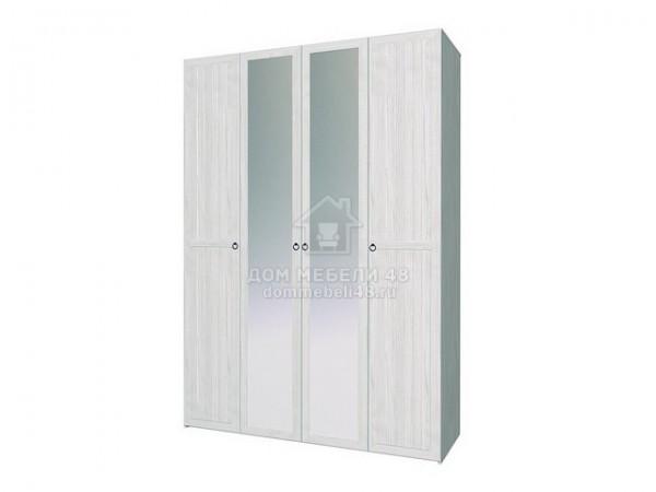 """Шкаф для одежды и белья 555 """"Марсель"""" 1,6м ЛДСП производитель: Глазовмебель"""