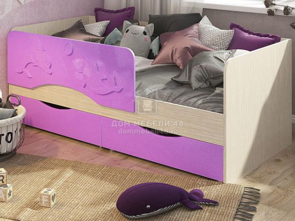 """Кровать """"Алиса"""" 1,8м МДФ производитель: Стендмебель (КР813)"""