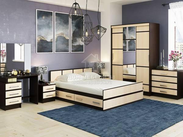 Спальня Сакура БТС (Комплектация №1)