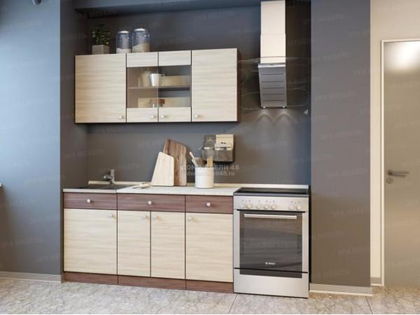 """Кухня """"Шимо"""" 1,5м ЛДСП. Эра (модульный кухонный гарнитур)"""