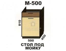 """М500 Стол под мойку """"Шимо"""". Производитель - Эра"""