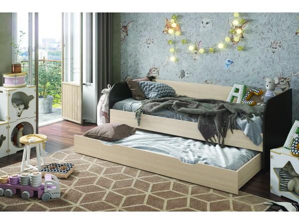 """Кровать """"Балли"""" 0,9х1,9м ЛДСП производитель: Стендмебель"""