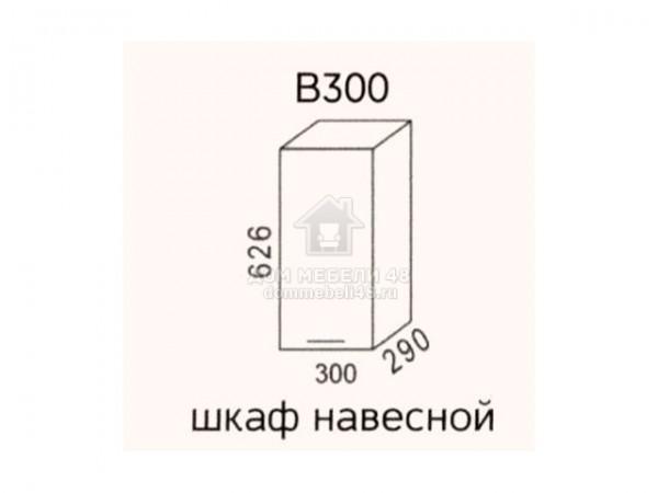 """В300 Шкаф навесной """"Эра"""". Производитель - Эра"""